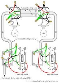 2 way switch with power source via light fixture how to wire a