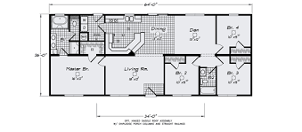 1 Bedroom Modular Homes by This Is My La Linda Scwd68f8 Home Floor Plan Manufactured