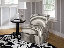 Black And White Striped Accent Chair My Next Purchase From Ashley Furniture Black And White Striped