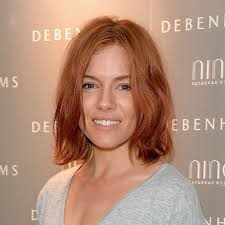 whatbhair texture does sienna miller have we re crying because sienna miller ditched her beach blonde bob
