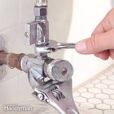 How To Stop A Leaky Faucet In The Kitchen Plumbing Valves The Family Handyman