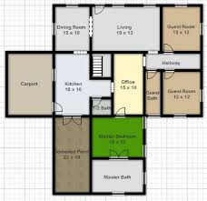 free kitchen floor plans house floor plan free home design with create