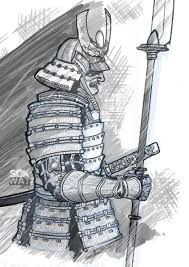 samurai drawing by battoman on deviantart
