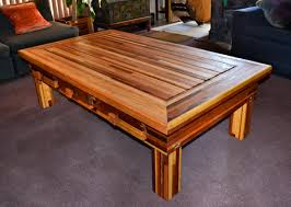Oversized Coffee Tables by Oversized Coffee Table Extra Large Solid Redwood Wood Tables
