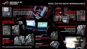 press release rog unveils latest maximus ix and strix gaming