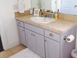 painting bathroom cabinets with chalk paint how why to chalk paint your bathroom or kitchen cabinets happy