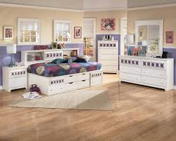 twin bedside bookcase daybed with customizable color panels by