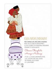 traditional wedding invitations traditional wedding invitation card igbo engagement
