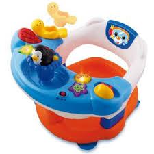 siege de bain smoby vtech baby siège de bain interactif 2 en 1 113705 pas cher