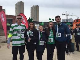 coast toronto team completes 2016 st patrick u0027s day 5k run walk