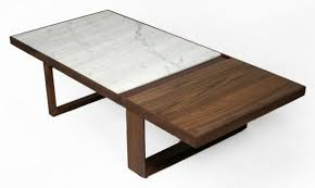 marble wood coffee table inspiring marble coffee table for living room furniture ideas palm