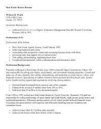 Sales Agent Resume Sample by Realtor Resume Sample Real Estate Agent Resume Example Realtor