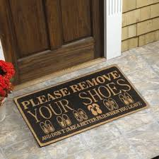 Coir Doormat Wipe Your Paws Coir Eco Friendly Door Mats Shop The Best Deals For Dec 2017