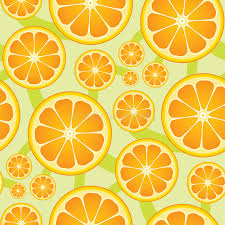 seamless citrus pattern stock illustration image of ornamental