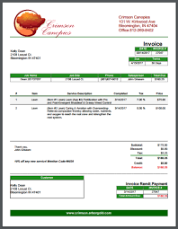 Lawn Maintenance Invoice Template by Lawn Care Invoice Template Crucial To Repeat Business