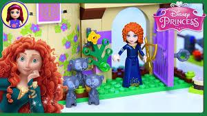 lego disney princess merida u0027s brave highland games castle