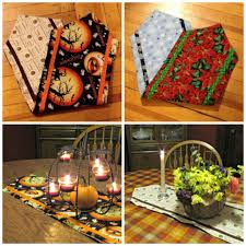 Holiday Table Runners by Diy Multi Holiday Table Runner Frugal Upstate
