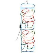 Christmas Rope Light Decorations Uk by 1 2m High 4ft Santa Claus Climbing On Rope Ladder Outdoor