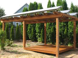 solar panel pergola for 5th floor rooftop design this would give