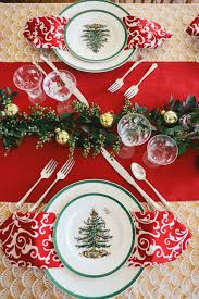 holiday tablescape spode christmas tree creative director and