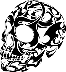 jdm car stickers flaming skull die cut vinyl decal sticker for cars laptops