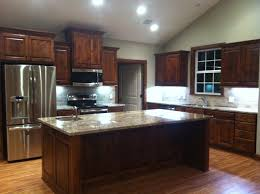 New Kitchen Furniture by I Just Love My New Kitchen Knotty Alder Cabinets Sienna