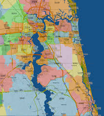 Zip Code Maps by Zip Code Map Of Jacksonville Fl Zip Code Map