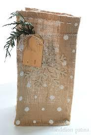 burlap gift bags how to make diy burlap gift bags diys tutorials