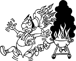 grill activity coloring page wecoloringpage