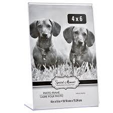 4x6 Photo Albums Bulk Bulk Freestanding Borderless Vertical Plastic Photo Frames 4x6 In