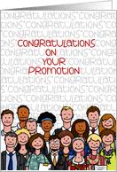 congratulations promotion card promotion greeting cards for employees from greeting card universe