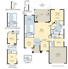 florida home floor plans catalina ii new home plan parrish fl pulte homes floor plans for