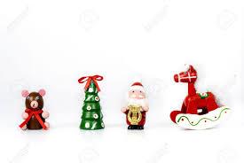 ornaments made in wood teddy tree santa