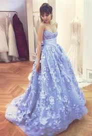 dresses for a quinceanera beautiful sweetheart gown blue applique quinceanera
