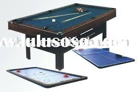 3 in 1 pool table air hockey pool table air hockey table pool table air hockey ping pong combo