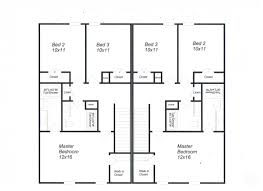 9 decorative duplex plans with garage in middle house plans 20342 luxury duplex garage good commute bragg apartments raeford via