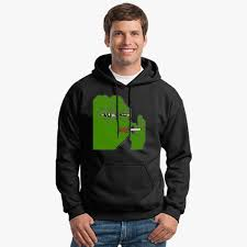 Hoodie Meme - pepe meme smoking hoodie customon com