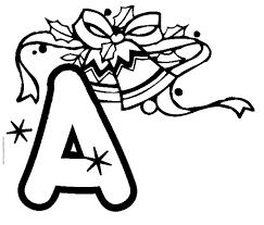 Coloriage Alphabet  lettre A  Tête à modeler