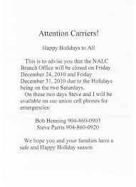 Cover Letter For Post Office Carrier Nalc Branch 53