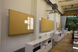 ag e murale bureau panneau acoustique mural en feutre ignifuge pour bureau