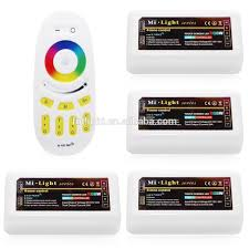 led strip lights wifi controller ce rohs certificate factory price touch screen remote rgb color