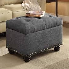 Leather Storage Ottoman Coffee Table Furniture Awesome Round Faux Fur Ottoman Tan Leather Storage