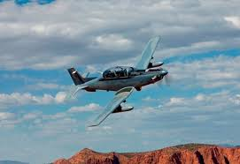 at 6 light attack aircraft hawker beechcraft s at 6 concludes phase iii of weapons assessment