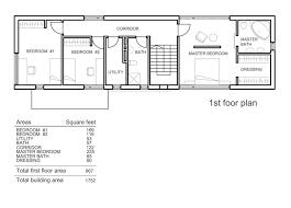 100 3 bedroom townhouse floor plans single floor 4 bedroom