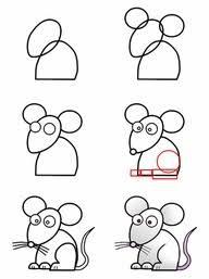 imagenes de ratones faciles para dibujar mejores 70 imágenes de dibujos en pinterest cómo dibujar dibujar