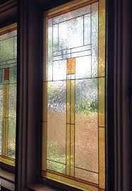 Craftsman Style Window Treatments Gallery Glass Class Susan U0027s Craftsman Style Dining Room Windows