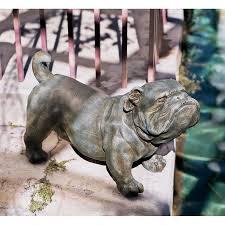 bossy bulldog fierce life size english bulldog realistic dog breed