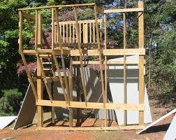 ben u0027s backyard climbing wall