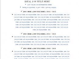 Monster Resume Templates Category All Resume Example U203a U203a Page 55 Nardellidesign Com