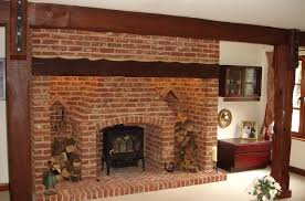 fire place bricks brick fireplace